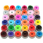 1Pc 36 Pure Color Shiny Extension Nail Art UV Gel Builder Tips Glue Manicure 5ML