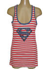 NWT DC COMICS SUPERGIRL COTTON SEXY RACEBACK TANK TOP US 4 (S), US 10 (XL)