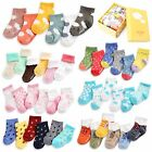 "Vaenait Baby Newborn Girls Boys Anti-slip 6Socks ""Infant 13 Gift Socks"" 0-18M"