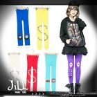 street Punk KERA black humour cartoon decal personalized tights set【JN8006】