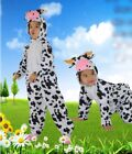 Children's Kids Animal Fancy Dress costume Cow outfit 3 4 5 6 7 8 Years