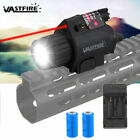 2in1 Tactical Q5 LED Flashlight Green Red Laser Sight Combo for Shotgun Glock