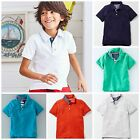 BOYS NEW X MINI BODEN PIQUE POLO TOP TSHIRT 2 3 4 5 6 7 8 9 10 11 12 SUMMER'17