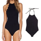 Women One Piece Swimsuit Swimwear Plus Size Padded Monokini Bikini Bathing Beach