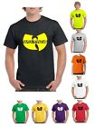 Wu-Tang Clan - Classic Yellow Logo - Band Music Wu Tang T-Shirt (S-2XL)