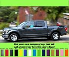 Ford F-150 truck bed side decals graphics decals slanted F-021