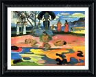 Day Of The Gods by Paul Gauguin   Framed canvas   Wall art paint oil painting