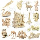 Woodcraft Construction Kit  Wooden Model Game Building Puzzle Gift For Adult