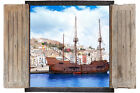 Wall Sticker Window 3D Decal Vinyl Ship pirate Boat room decor home art
