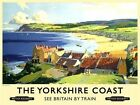 YORKSHIRE COAST FILEY WHITBY SCARBOROUGH BRIDLINGTON METAL SIGN TIN PLAQUE 784
