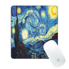 Premium Vegan Leather Surface Compuer Gaming Mouse Pad 8 x 9 Inches