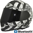 TORC T14B Mako Full Face Dual Visor Bluetooth  Motorcycle Helmet Force