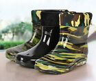 four seasons Galoshes Mens Rain Boots Waterproof rainshoes Lined Rubber Boots