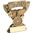 """3.75"""" Reading  Trophy Free Engraving up to 30 Letters"""