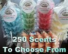 Wax Tart Melts 4 Oz  5 Pc Scallop Shape Candle 250 Scents - Pick Your Favorite