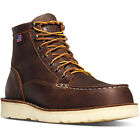 """Danner 15564 Bull Run Moc Toe 6"""" Safety Toe EH Non-slip US Made Wedge Sole Boots"""