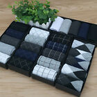 5 Pairs Men's Autumn Winter Classic Style Dress Cotton Socks Business Socks