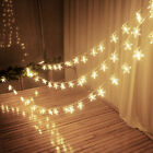 Fairy String Star Light Lamp Wedding Xmas Party Outdoor Indo
