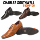 MENS FAUX LEATHER ITALIAN CASUAL FORMAL BROGUE OXFORD OFFICE SMART WORK SHOES