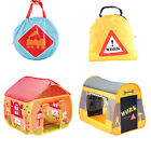 Kids Play Tent Playhouse Playmat Camping Pop Up Garden Bedroom Railway Station