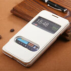 For Samsung Galaxy S2 S II i9100 Case Windows Fashion Holster Flip Leather Cover