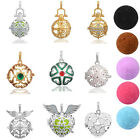 Crystal Aromatherapy Essential Oil Diffuser Necklaces Fragnance Perfume Pendants