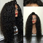 "14""-20""  Loose Curly Full/ Front Lace Remy Human Hair Wigs 150% density"