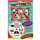 Pirate Photo Props Party Booth HAPPY BIRTHDAY Pirate Moustache big photo frame