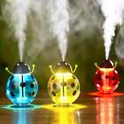 USB Beetle-shaped Humidifier Smoked Light Protecting Home Office Air Diffuser