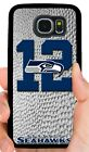 SEATTLE SEAHAWKS 12TH MAN PHONE CASE FOR SAMSUNG NOTE GALAXY S5 S6 S7 EDGE S8 S9 $14.88 USD on eBay