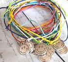 Bracelet Anklet Hippie Friendship Holiday Smiley Surfer Boho Cord Rope Festival