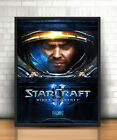 Star Craft Game Print Poster For Walls Interior Home Decor A4