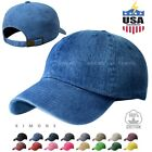 Kyпить Dyed Washed Cotton New Plain Polo Style Baseball Ball Cap Hat Dad 2 Two Tone на еВаy.соm