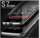 LUPHIE Aluminum Metal Bumper Thin Frame Case Cover For Samsung Galaxy S7/S7 Edge