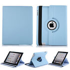 For Apple iPad 2 /3 /4 360 Rotating Magnetic PU Leather Case Smart Stand Cover