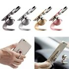 360° Universal Hook Phone  Magnetic Metal Ring Stand Holder Sticky Car Mount