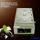 Chocolate Melting Machine 3 Pot Fondue Melter Pastry Caterer Commercial Electric cheap