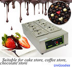Chocolate Melting Machine 6 Pot Fondue Melter Pastry Caterer Commercial Electric cheap