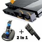 Dual USB LED Controller Charger/ Hub Adapter/Cooling Fan PS4 Sony Playstaion 4