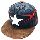 New Era 59fifty Character Armor Captain America Fitted