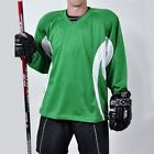 Firstar Arena 2 Color Hockey Jersey         Kelly Green & White