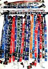 OFFICIAL MLB TEAM LICENSED LANYARD-ID BADGE HOLDER,KEYCHAIN BREAKAWAY CLIP