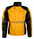 Infamous 2 Cole Mens Celebrity MacGrath Gaming Costume Leather Jacket