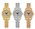 AOYI Womens Ladies Fashion Bracelet Crystal Diamond Case Quartz Wrist Watch
