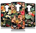 TROPICAL FLORAL PIN UP PRINT LG G2 G3 G4 MINI STYLUS G5 COVER CASE