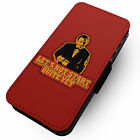Pulp Fiction Winston Wolf Faux Leather Flip Phone Cover Case Tarantino #1