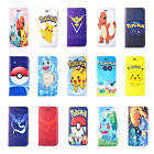 pokemon iphone 5s - iPhone 7 6s Plus 5s Cute Pikachu Pokemon PU Leather Wallet Card Stand Case Cover