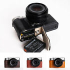 Genuine Real Leather Half Camera Case Bag Cover for FUJIFILM X-A10 XA10 8 Colors
