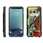 For Samsung Galaxy S8+ Plus G955 Rugged Holster Belt Clip Kickstand Case