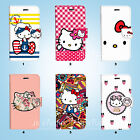 Hello Kitty Wallet Case Cover Iphone Se 6 6s 7 8 Plus 5 5s 5c 4 4s 084